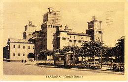 ITALIA - FERRARA - Tram, Leggi Testo, Viag. 1933  F. Piccolo - 2019-1-207 - Ferrara