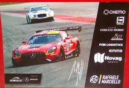 Raffaele Marciello    Signed Card - Authographs