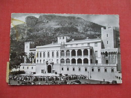 > Monaco  Prince's Palace   3 Stamp With 2 Postage Due Stamps Stamp  & Cancel   -ref 3412 - Prince's Palace