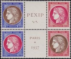 France  .    Yvert     .   348/351  (2 Scans)      .     **   .     Neuf  SANS  Charniere  .   /   .  MNH - France