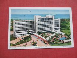 Panama City  Kirkeby Hotel    Stamp  & Cancel   -ref 3412 - Panama