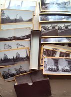 38 CREMIEUX STEREO  LAYET SICCIEU CARISIEU CHATEAU HAUTE PIERRE SAINT JUIEN VERNAS 36 STERO 1884/1895  63 SCAN - Stereo-Photographie