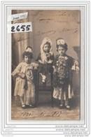 6519 ESPAGNE AK/PC/CARTE PHOTO / 2655 / FERIA DE 1917 EN ESPAGNE TROIS JEUNES FILLES - Altri