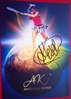 Angelique Kerber - Handtekening
