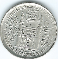 India - Princely States - Hyderabad - Mir Usman Ali Khan - 2 Anna - AH1362 (1943) (KMY60) - India