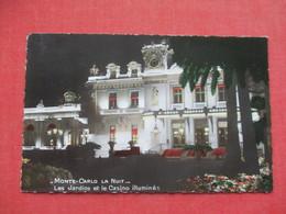 Night View  Monaco > Monte-Carlo   Stamp  & Cancel   -ref 3412 - Monte-Carlo