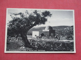 Israel  Bethlehem  Tomb Of Rachel Stamp  & Cancel   -ref 3412 - Israel