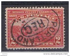 U.S.A.:  1909  CENTENARIO  -  2 C. CARMINIO  US. -  YV/TELL. 181 - Stati Uniti