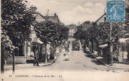 3079 Cpa Cabourg - L'Avenue De La Mer - Cabourg