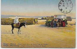 Rodolphe NEUER Maroc Tanger Village Arabe Dans Les Dunes - Tanger