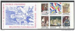 SUEDE 1994 - CARNET  YT C1794 - Facit H446 - Neuf ** MNH - Relations Culturelles France-Suède - Carnets