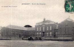 3085 Cpa Jeumont - Ecole Des Garçons - Jeumont