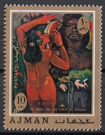 "Ajman 1971 Mi. 831 ""La Luna E La Terra"" - Quadro Dipinto Da P. Gauguin MNH Impressionismo Painting Tableaux - Nudes"