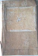 RELIURE ANCIENNE 17 / 18° SIECLE  EN VELIN RIGIDE AVEC LACETS  LIGATURE 36 X 24 CM - Collections