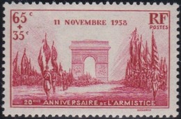 France  .    Yvert     .      403         .     **   .     Neuf  SANS  Charniere  .   /   .  MNH - France