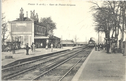 CPA Gare De Plaisir Grignon - Plaisir