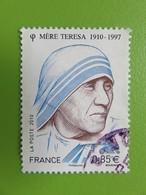 Timbre France YT 4455 - Personnalité - Mère Teresa - Portrait - 2010 - Frankrijk