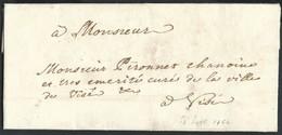 L. Datée De Huy 13/9/1764 Pour Le Curé De Visé. - 1714-1794 (Pays-Bas Autrichiens)