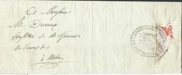 """L. De Huy 1806 En Franchise Cachet """"ADMINISon Des Secours Publics De La Ville De Huy"""" Pour Moha - 1794-1814 (Période Française)"""