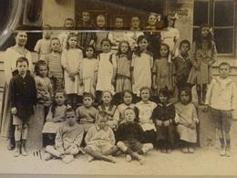 PHOTO DE CLASSE   GENEVE  SUISSE   MAURER Photo  11 Rue De CAROUGE - Personnes Anonymes