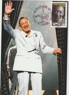 Carte-Maximum FRANCE N° Yvert 4606 (HENRI SALVADOR) Obl Sp Ill 1er Jour (Ed FDC) - 2010-...