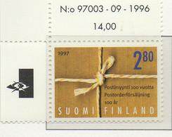 PIA - FINL  - 1997 : Centenario Della Vendita Per Corrispondenza In Finlandia - (Yv 1335) - Finlandia