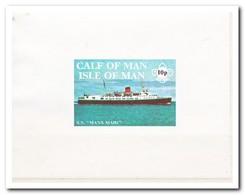 Calf Of Man 1971, Postfris MNH, Manx Maid, Ship - Man (Eiland)