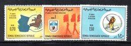 XP4108 - SOMALIA 1973 , Serie Yvert N. 153/155  ***  Rivoluzione - Somalia (1960-...)