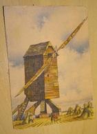 Cp - Belle Série Nos Vieux Moulin à Vent - Barday -  En Berri à Chantomé - 1944 - Barday