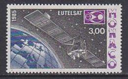 Monaco 1985 Eutelsat 1v ** Mnh (43048A) - Ruimtevaart