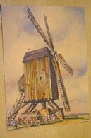 Cp - Belle Série Nos Vieux Moulin à Vent - Barday -  En Flandre à Wormhoudt - 1944 - Barday