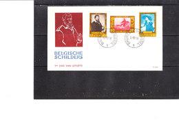 1076/81 Culturelle - Chefs-d'oeuvre Se Trouvant Dans Les Musées Belges - 1951-60