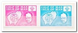 Calf Of Man 1973, Postfris MNH, Scouting, Churchill - Man (Eiland)