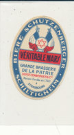 892 / ETIQUETTE DE BIERE   SCHTZENBERGER   GRANDE BRASSERIE DE LA PATRIE   STRASBOURG - Bière
