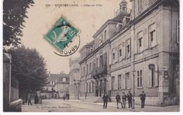 25 Doubs - MONTBELIARD -  Hôtel De Ville - Police - Montbéliard
