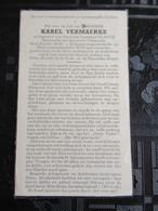 Bidprentje Karel Vermaerke  - Bestuurder Der Brouwerij Vermaerke - Images Religieuses