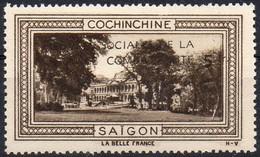 Vignette COCHINCHINE - SAIGON (Oeuvres Sociales De La France Combattante) - Neuve Sans Charnière / Mint Never Hinged - Commemorative Labels