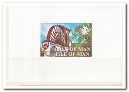 Calf Of Man 1971, Postfris MNH, Laxey Wheel - Man (Eiland)