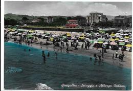 Senigallia (Ancona). Spiaggia E Albergo Milano. - Senigallia