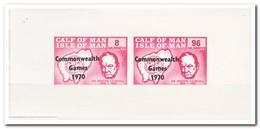 Calf Of Man 1970, Postfris MNH, Churchill, Commonwealth Games 1970 - Man (Eiland)