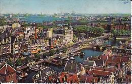 256733Amsterdam, Damrak Met Gezicht Op Het Y. 1960 - Amsterdam