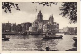 256738Amsterdam, Pr. Hendrikkade Met St. Nicolaaskerk - Amsterdam