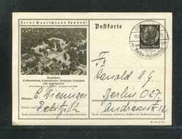 """Deutsches Reich / 1937 / Bildpostkarte > DARMSTADT, SSt. Delitzsch """"Volks-Heimatfest"""" (17268) - Ganzsachen"""