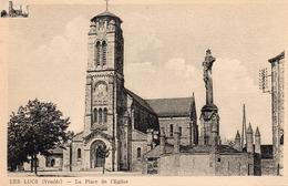 LES LUCS Sur BOULOGNE - LA PLACE DE L'EGLISE - Les Lucs Sur Boulogne