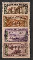 Alaouites - 1925 - Poste Aérienne PA N°Yv. 5 à 8 - Série Complète - Neuf * / MH VF - Neufs
