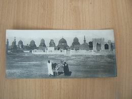 PETITE  CARTE POSTALE  EGYPTE / LE CAIRE VU GENERALE DES TOMBEAUX DES KALITES  NON  VOYAGEE - Cairo
