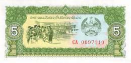 5 KIP Laos UNC - Laos