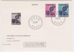 Norway 1967 FDC Europa CEPT  (G84-102) - Europa-CEPT