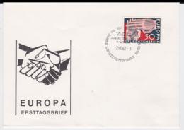 Liechtenstein 1962 FDC Europa CEPT  (G84-99) - Europa-CEPT