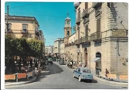 Trani (Bari). Via Mario Pagano - Auto, Car, Voitures. - Trani